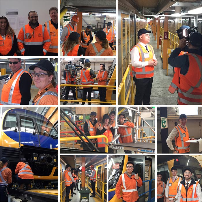 Sydney Trains Collage