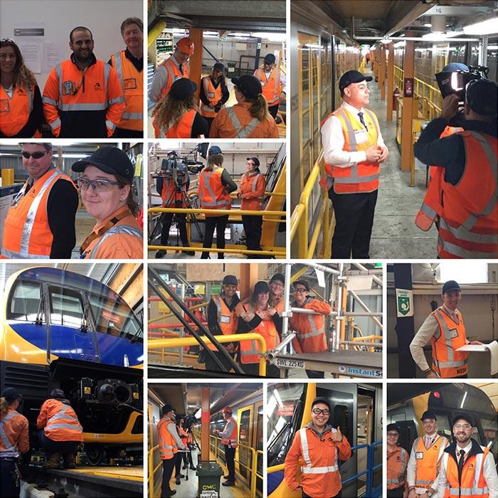 Sydney Trains Collage